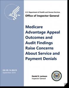 Medicare Advantage Denial of Service